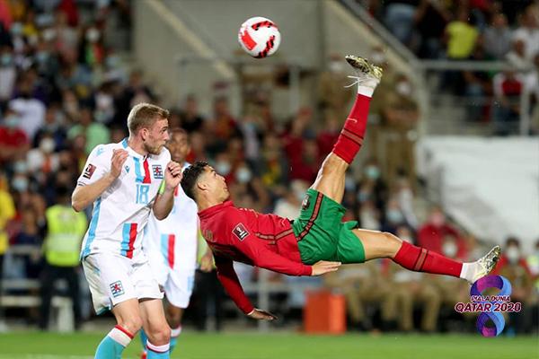 Cristiano Ronaldo hattrick