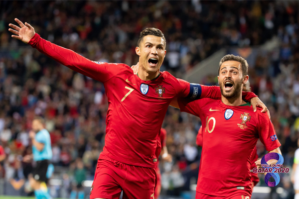 Kualifikasi Piala Dunia Ronaldo Hattrick di Laga Portugal Vs Luxemburg