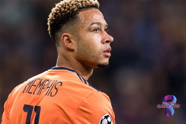 Memphis Depay Curi Perhatian di Kualifikasi Piala Dunia Zona Eropa